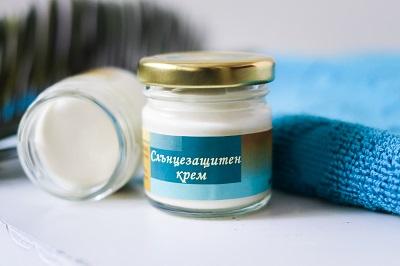 Слънцезащитен крем SPF 50 - натурални съставки