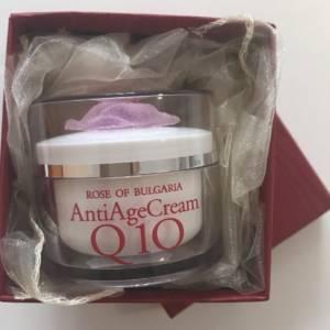 Подарък- Крем за лице - Anti age с Q10