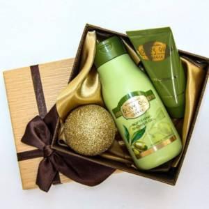 Подаръчен комплект - Красота от боговете с органик масло от маслина